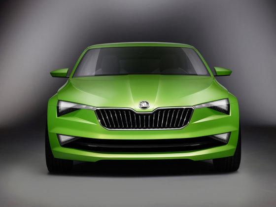 """""""Škoda"""" nuotr./""""Škoda Vision C"""""""