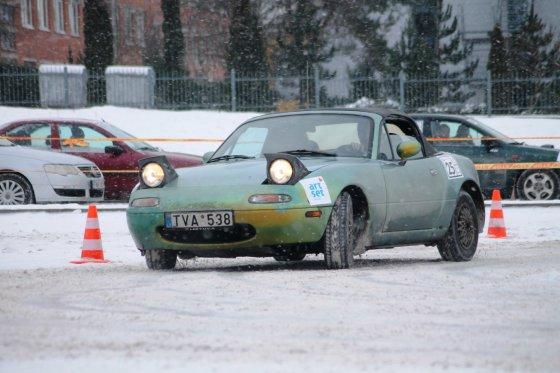 Tomo Markelevičiaus nuotr./Slalomo varžybos SEAT taurei laimėti