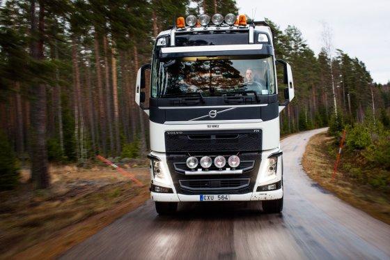 """""""Volvo Trucks"""" nuotr./Sunkvežimio vairuotojas"""