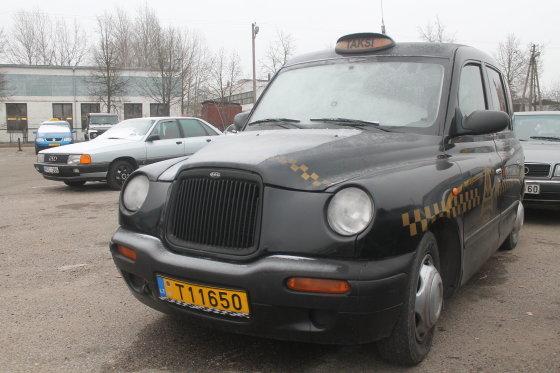 Tomo Markelevičiaus nuotr./Taksi automobilis