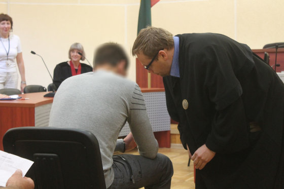 Tomo Markelevičiaus nuotr./Teismo salėje