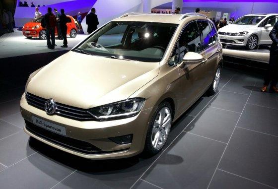 """""""Volkswagen"""" nuotr/""""Volkswagen Golf Sportsvan"""""""