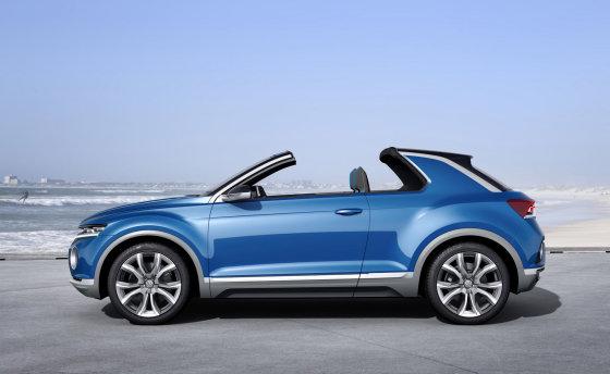 """""""Volkswagen"""" nuotr./""""Volkswagen T-ROC"""""""