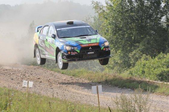 "Fotodarius.lt nuotr./""Wellman Rally Team"" ekipažas"