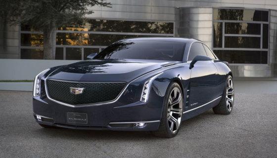 "media.gm.com nuotr./""Cadillac Elmiraj"" konceptinis modelis"