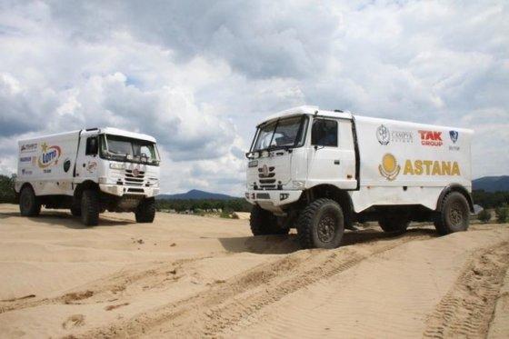 Asmeninio archyvo nuotr./Artūras Ardavičius ruošiasi Dakaro raliui
