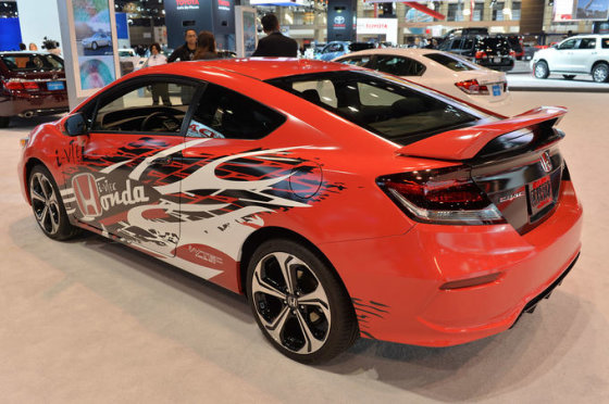 """Honda"" nuotr./""Honda Civic Si Coupe"""