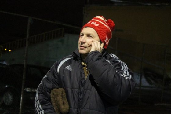 """Tomo Markelevičiaus nuotr./Panevėžio LRK """"Olimpas"""" žaidėjas Artūtas Blažinskas"""