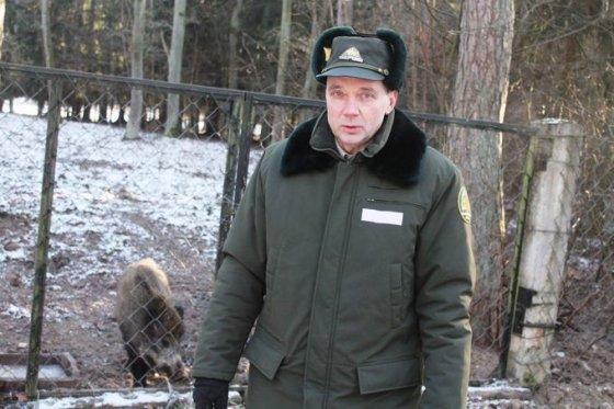Tomo Markelevičiaus nuotr./Krekenavos girininkas Jonas Leika