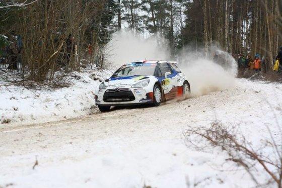 """Tomo Markelevičiaus nuotr./""""Rally Liepaja"""" pirmasis greičio ruožas"""