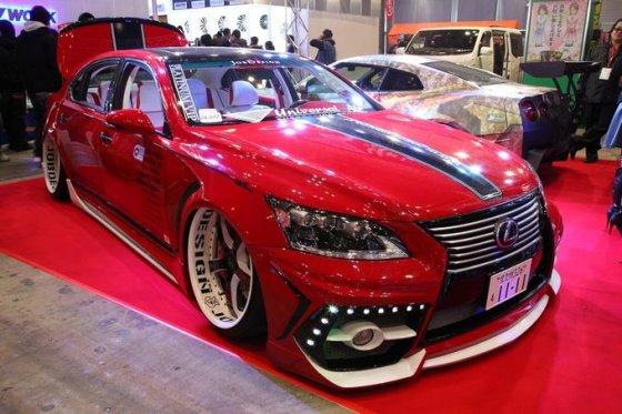 "autocar.co.uk nuotr./""Tokyo Auto Salon 2014"" paroda"