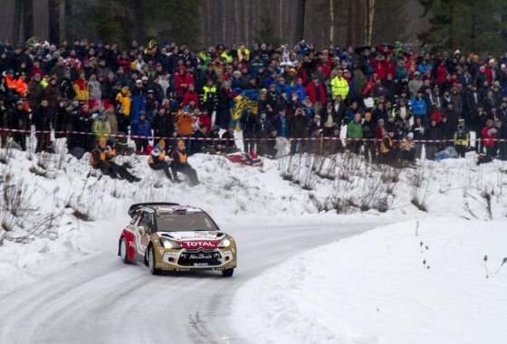 """AFP/""""Scanpix"""" nuotr./WRC varžybos Švedijoje"""