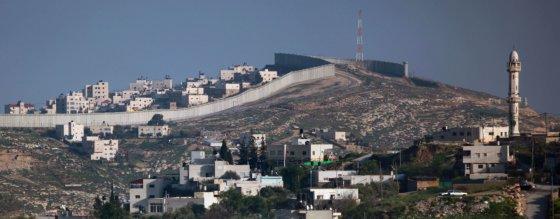 Siena atskirti palestiniečių kaimai