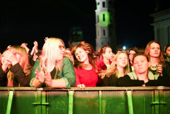 "Karolinos Pansevič nuotr./""WhoMadeWho"" koncerto akimirka"