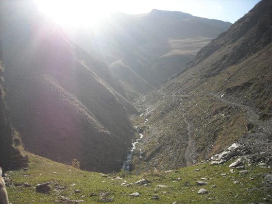 Didžiojo Kaukazo slėniai