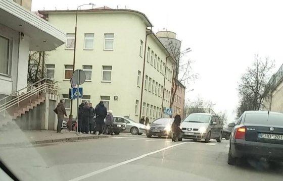Gretos Gutkovaitės nuotr./Avarija Vytauto gatvėje