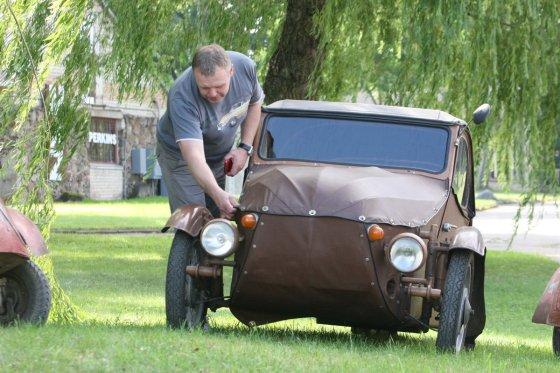 Alvydo Januševičiaus nuotr./Mažų automobilių kolekcija