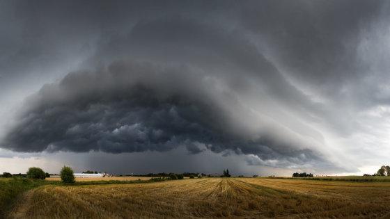 Šiauliečio Mindaugo Macaičio įamžinti debesys