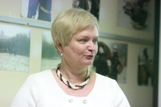 Alvydo Januševičiaus nuotr./Archeologė Ilona Vaškevičiūtė.