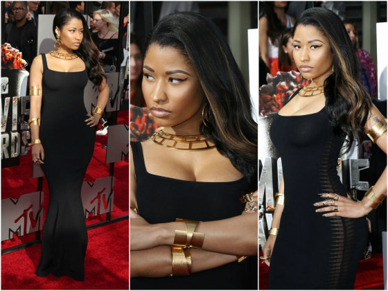 """Scanpix"" nuotr./Nicki Minaj MTV Movie Awards ceremonijoje."