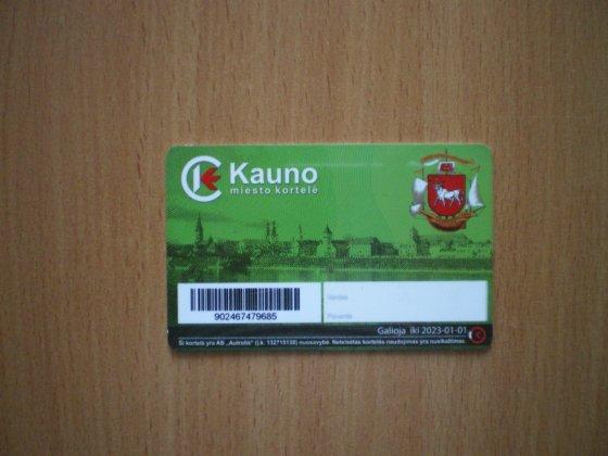 Kauno apskrities VPK/Kauno miesto kortelė