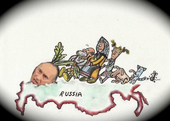 Fast Art Studio/V.Putinas rusų pasakose