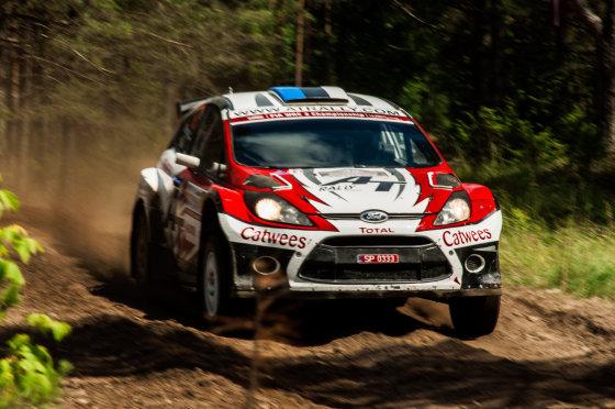 WRC bolidai
