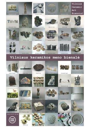 3- iosios Vilniaus keramikos meno bienalės afišos