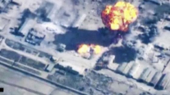 """""""Scanpix""""/AP nuotr./Jordanija bombarduoja IS taikinius"""