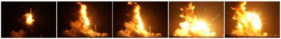 """Reuters""/""Scanpix"" nuotr./Raketos ""Antares"" sprogimas"