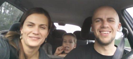 Youtube.com stop kadras/Jurga Šeduikytė, Vidas Bareikis ir Adas