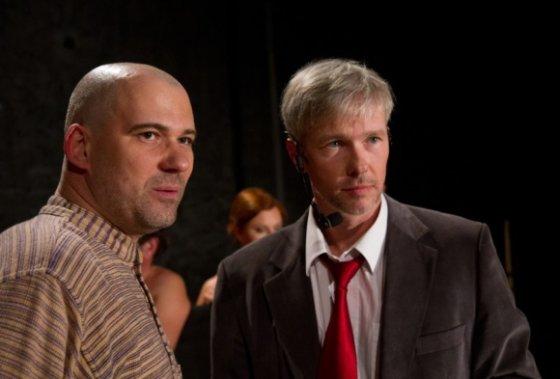 Martyno Siruso nuotr./Aidas Giniotis ir Andrius Kaniava (2011 m.)