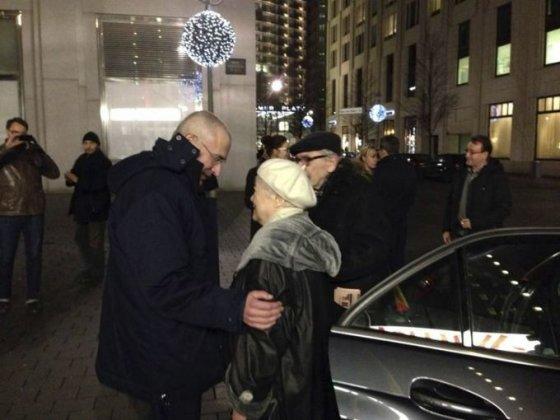 Michailas Chodorkovskis su motina Marina