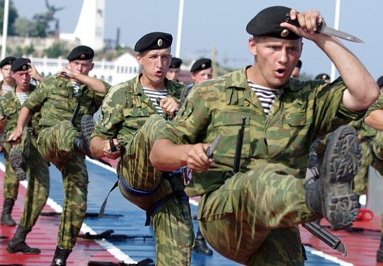 "AFP/""Scanpix"" nuotr./Rusijos kariai"