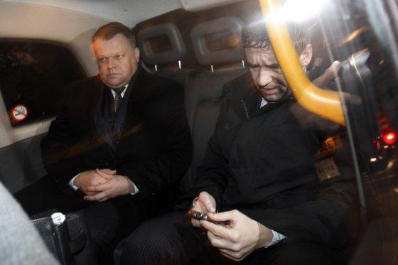 """Reuters""/""Scanpix"" nuotr./Vladimiras Antonovas ir Raimondas Baranauskas"