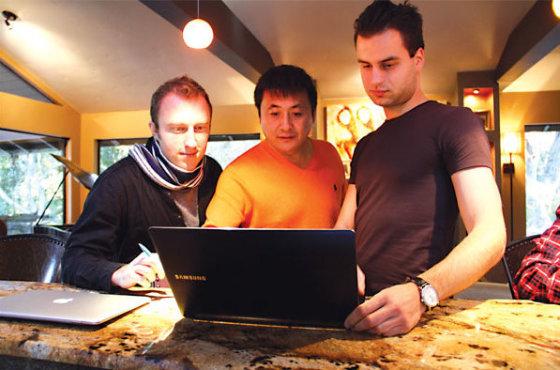 Andriaus Terskovo startuolis