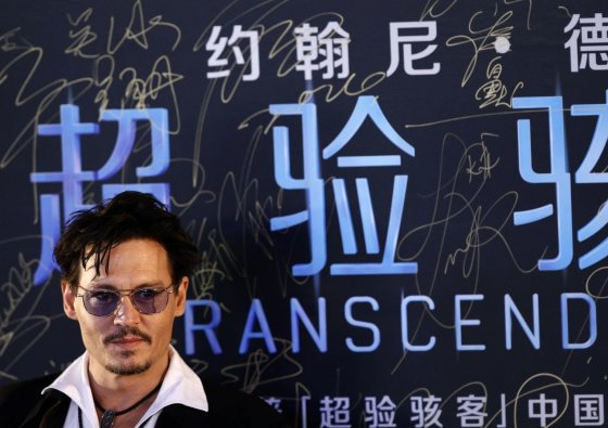 """Reuters""/""Scanpix"" nuotr./Johnny Deppas Kinijoje"