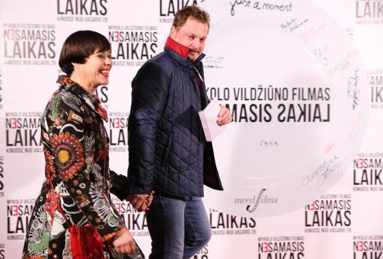 Luko Balandžio/Žmonės.lt nuotr./Nomeda Marčėnaitė ir Vytas Palavinskas