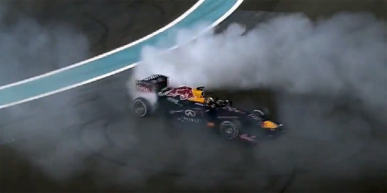 Kadras iš vaizdo siužeto/Sebastianas Vettelis