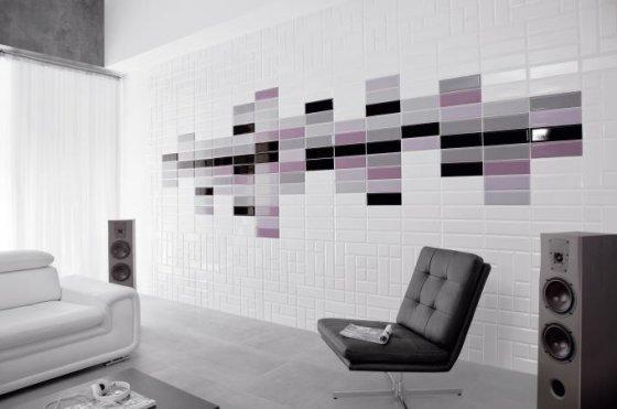 """""""Tamoe"""" kolekcijos išskirtinumas – 6 spalvos, 4 skirtingi formatai ir 2 paviršiaus tekstūros tipai – lygus ir lengvai gofruotas."""
