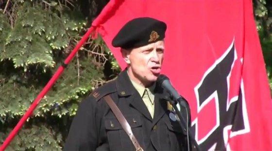 Šiauliuose gyvenantis radikalas Žilvinas Razminas.
