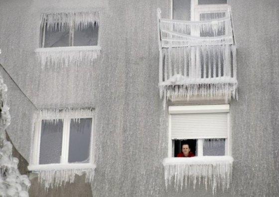 """""""Reuters""""/""""Scanpix"""" nuotr./Užšalusi Slovėnija"""