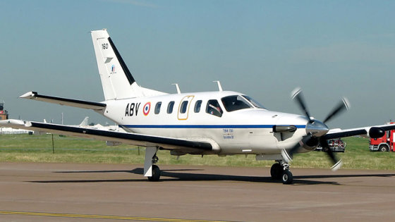 """Wikimedia Commons"" nuotr./""Socata TBM700"" lėktuvas"