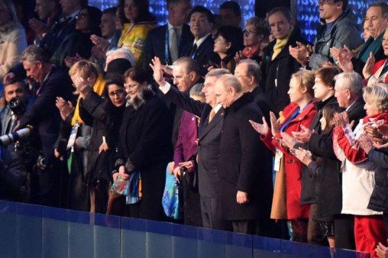"""AFP/""""Scanpix"""" nuotr./Sočio olimpiados atidarymas."""