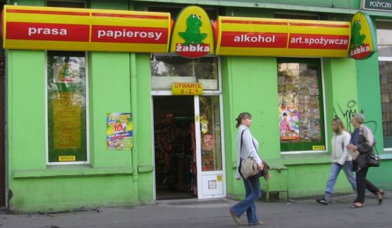 "Nuotrauka iš ""Wikipedia""/""Žabka Polska"""