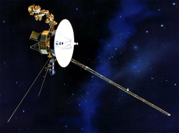 """NASA/JPL-Caltech iliustr./Zondas """"Voyager 1"""""""
