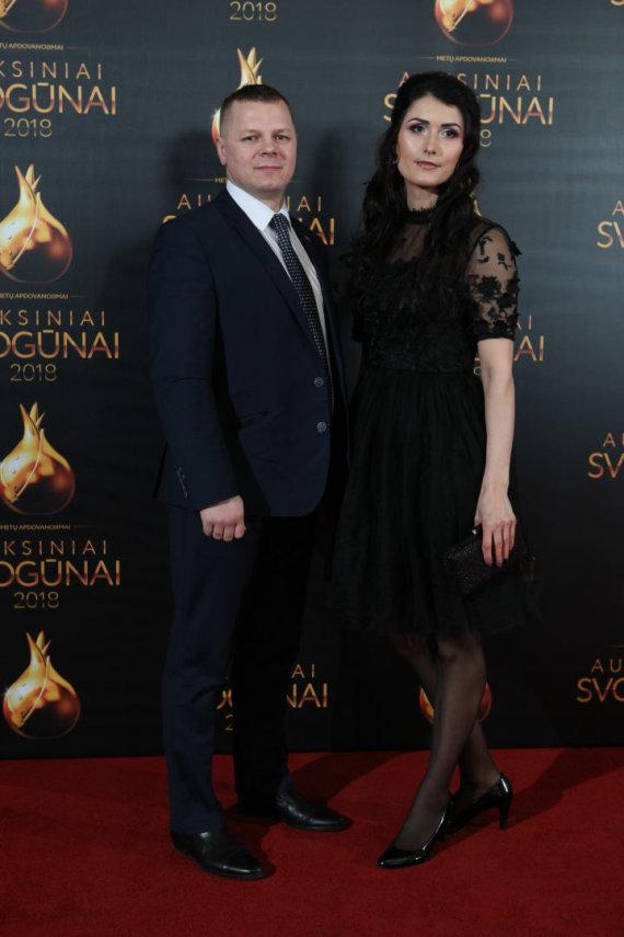 Eriko Ovčarenko / 15min nuotr./Kęstutis Smirnovas su žmona Gintare Bubnyte-Smirnoviene