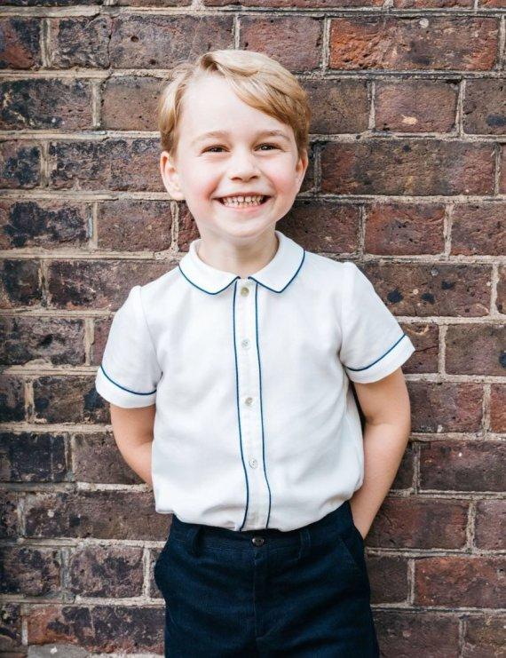 Matt Porteous nuotr./Princas George'as švenčia 5-ąjį gimtadienį