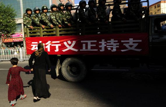 """AFP/""""Scanpix"""" nuotr./Uigūrai Kinijoje"""