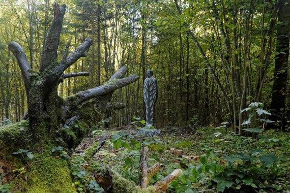 Sirvėtos regioninio parko direkcijos nuotr./Šventos pažintinis mitologinis takas